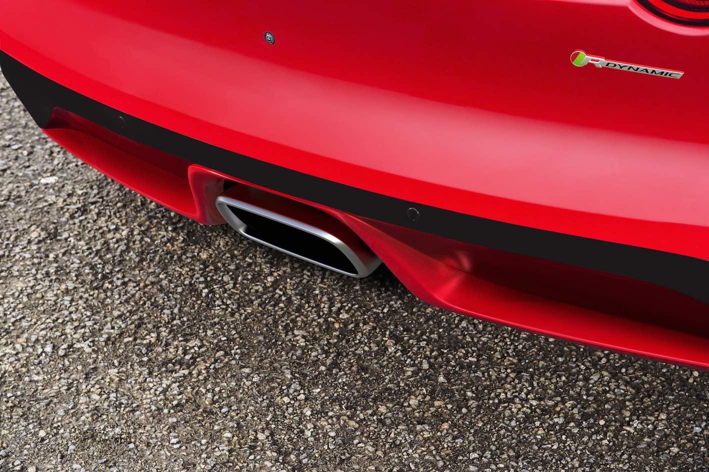 Jaguar F-Type Vierzylinder Auspuff