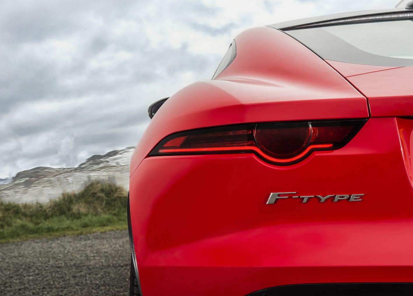 Jaguar F-Type Vierzylinder Heck