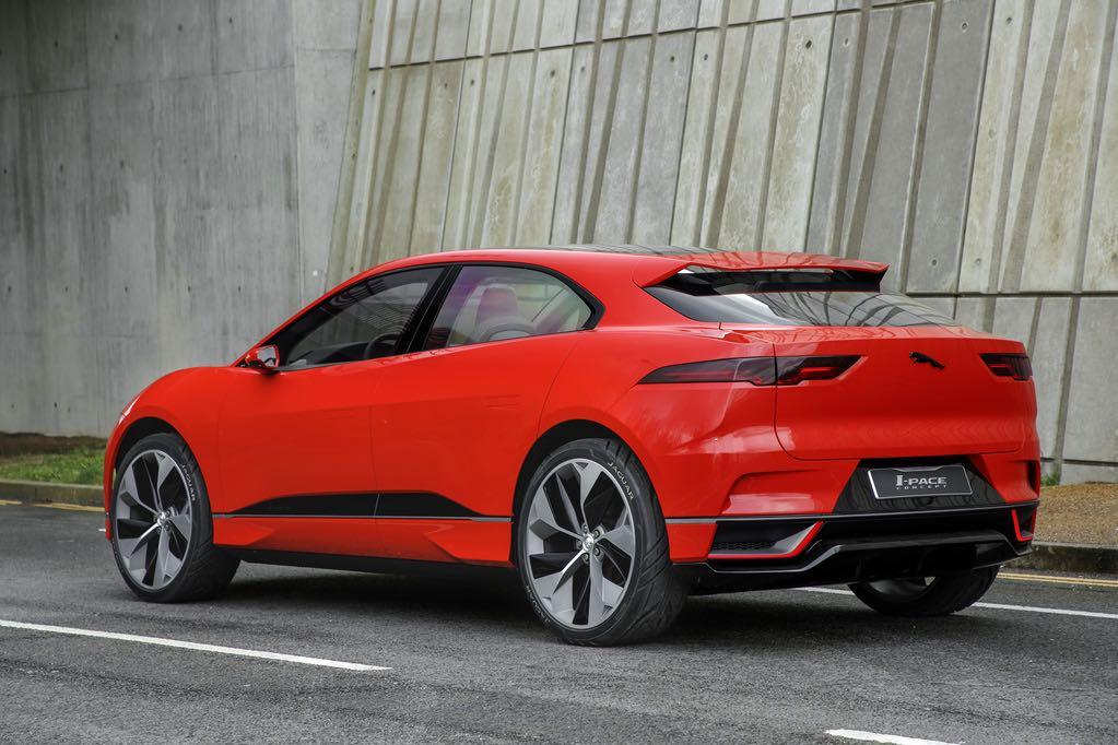 Jaguar I-Pace Rot hinten