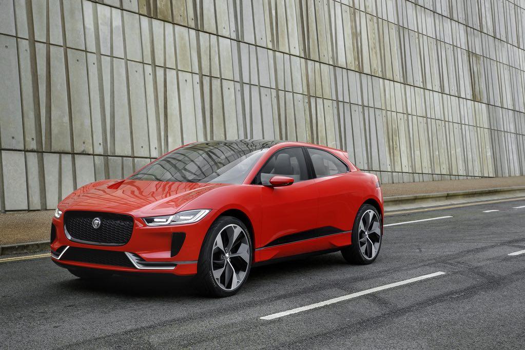 Jaguar I-Pace Rot vorne