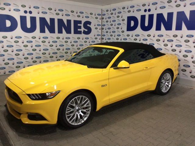 Ford Mustang Cabrio Gelb 5.0 Finanzierung