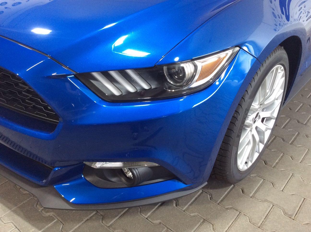 Ford Mustang Finanzierung Blau 2017 1
