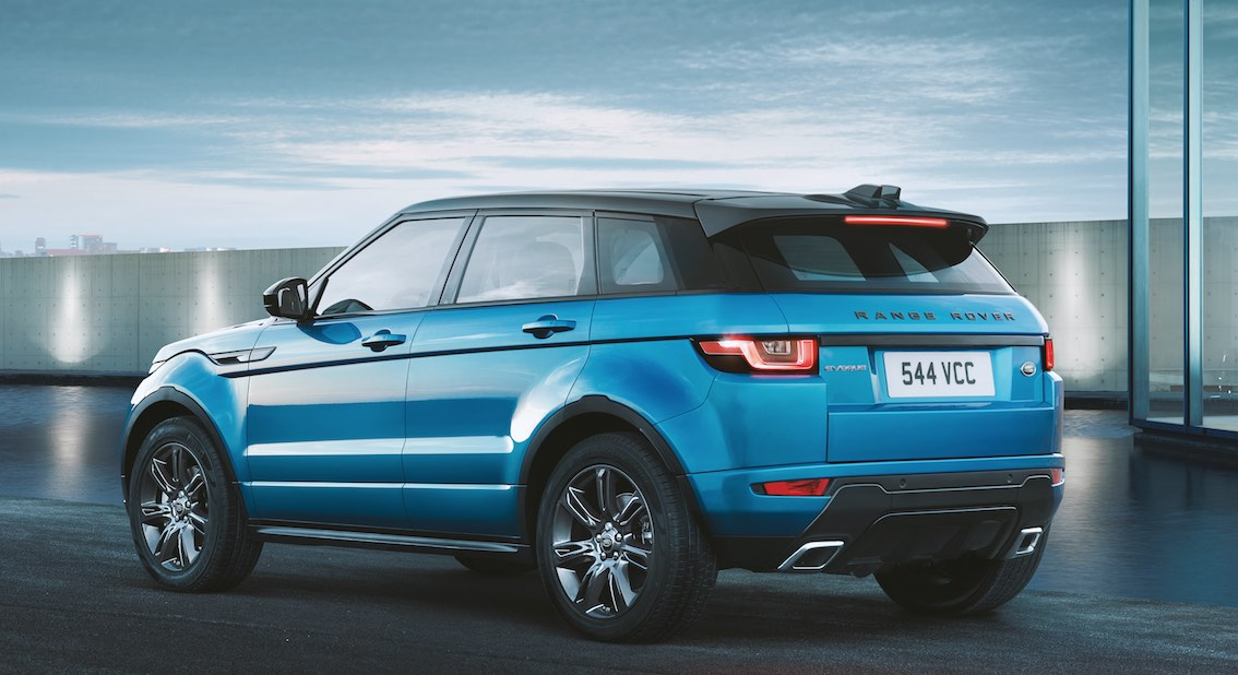Land Rover Evoque Landmark hinten