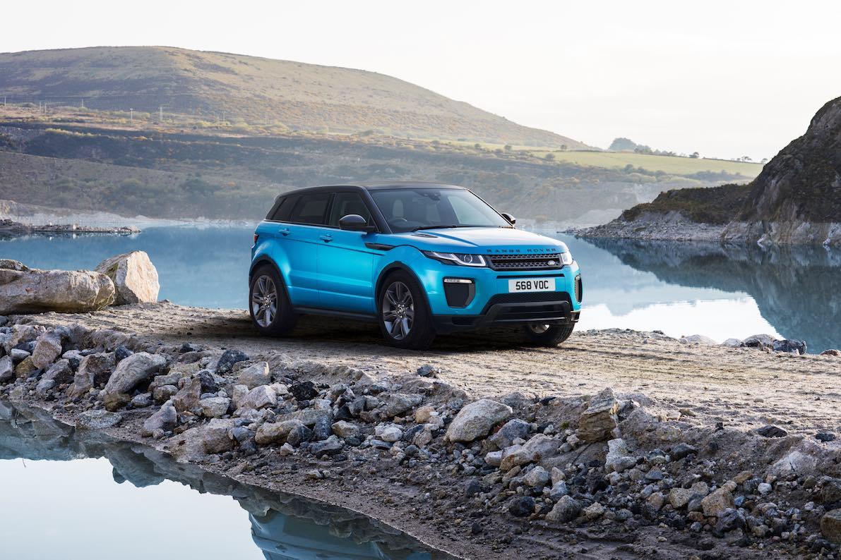 Range Rover Evoque Landmark Blau