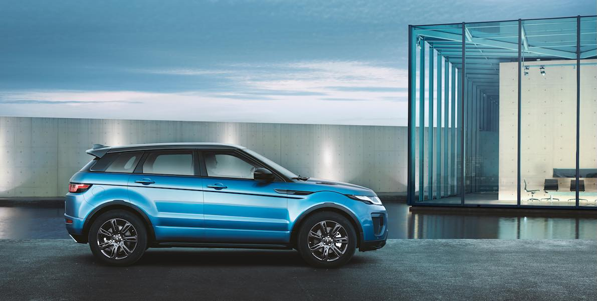 vorstellung des range rover evoque landmark limited edition des suv. Black Bedroom Furniture Sets. Home Design Ideas