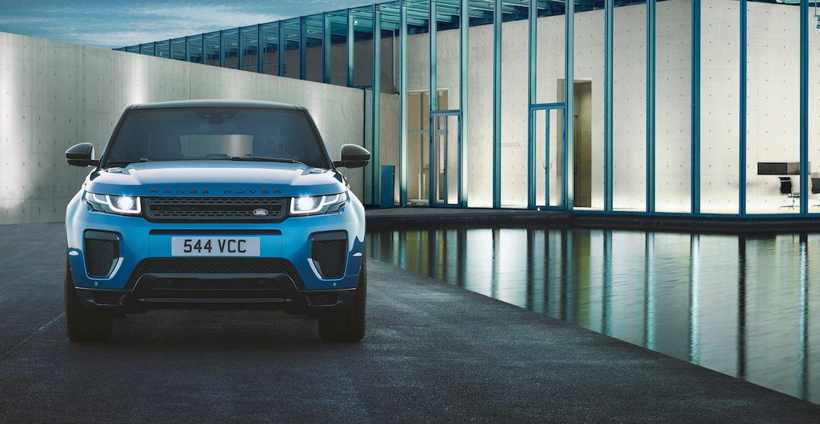Range Rover Evoque Landmark vorne