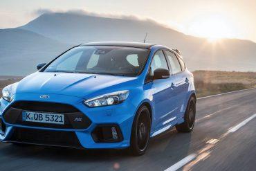 Ford Focus RS 2017 Black & Blue