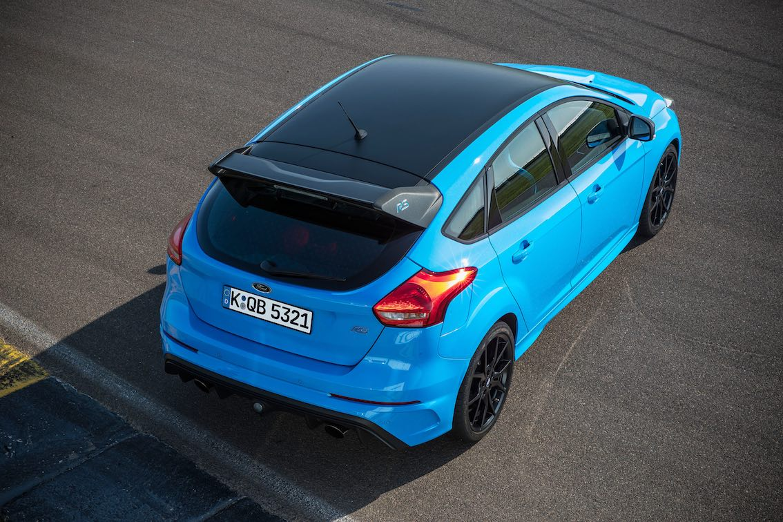 Ford Focus RS Black Blue
