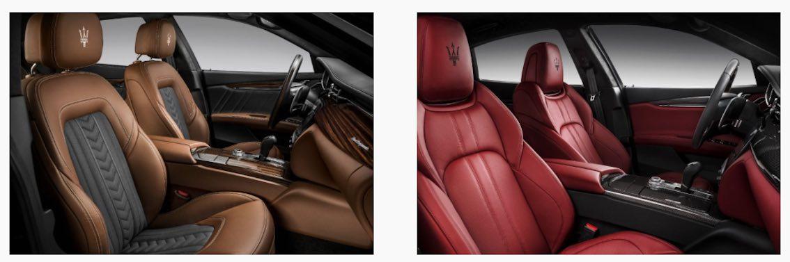 Maserati Quattroporte 2017 Innenausstattung