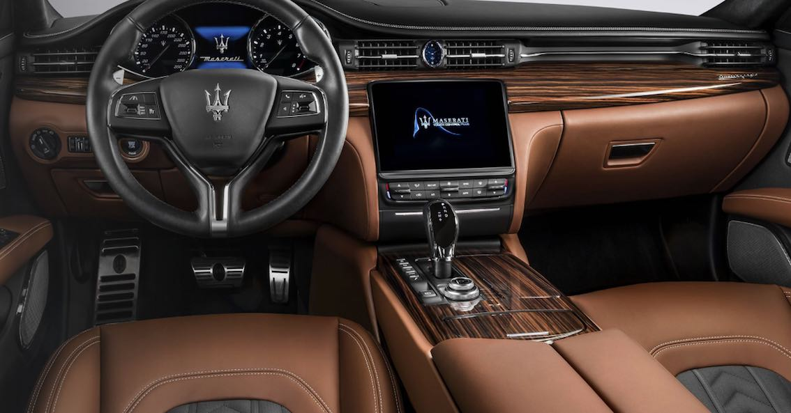 Maserati Quattroporte GranLusso 2017 4