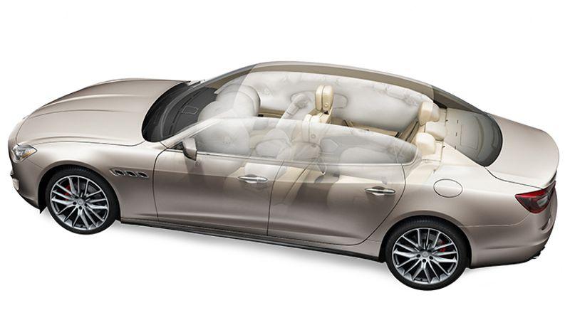 Maserati Quattroporte Sicherheit