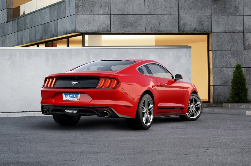 Ford Mustang 2018 Appearance Package Heck rot