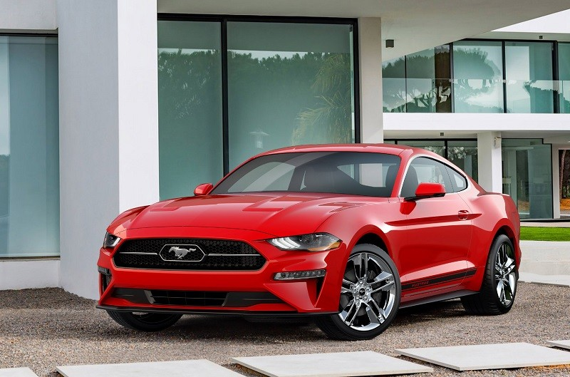 Ford Mustang 2018 Rot US Version