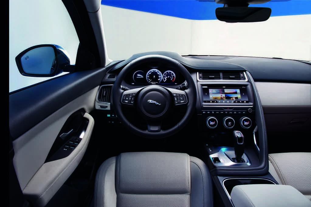 Jaguar E-Pace 2018 Innenraum