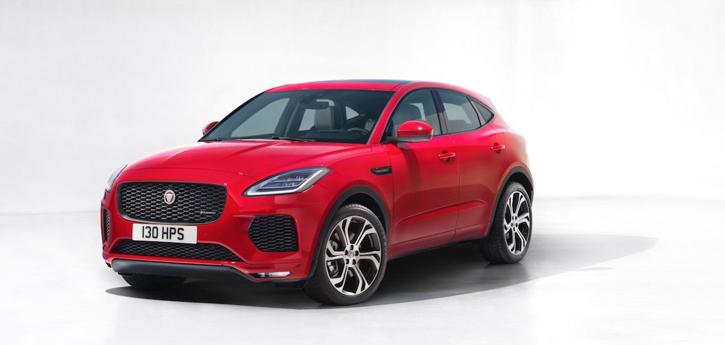 Jaguar E-Pace 2018 rot