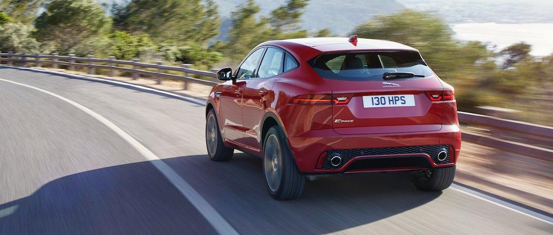 Jaguar E-Pace rot Heck