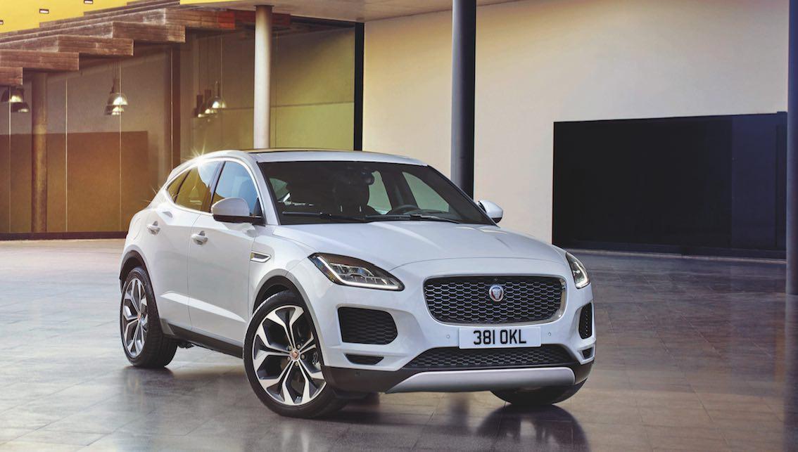 Jaguar E-Pace weiß 2018