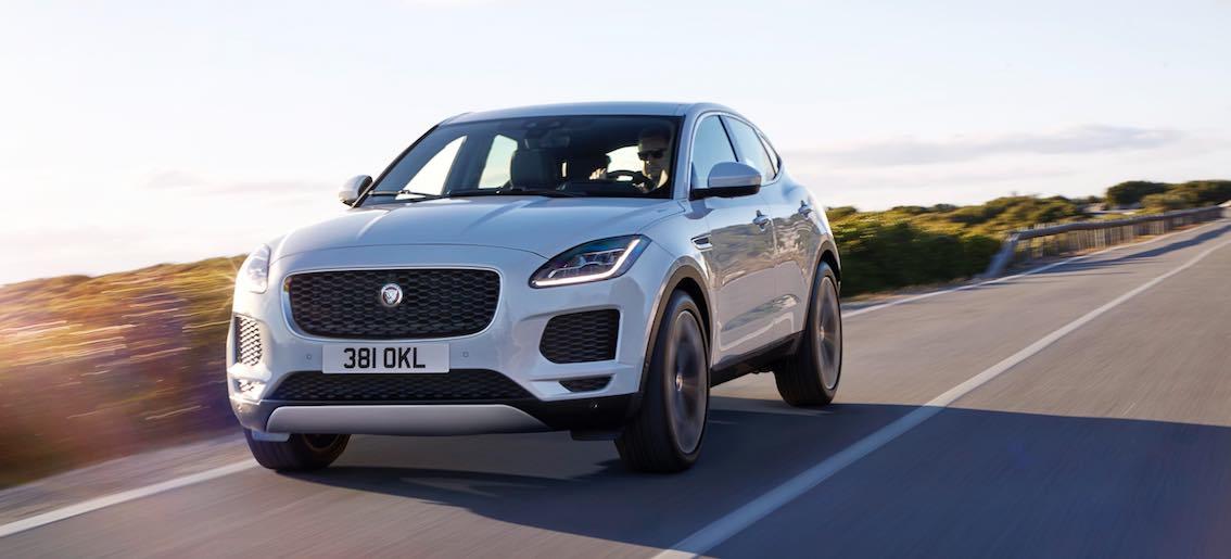Jaguar E-Pace weiß vorne