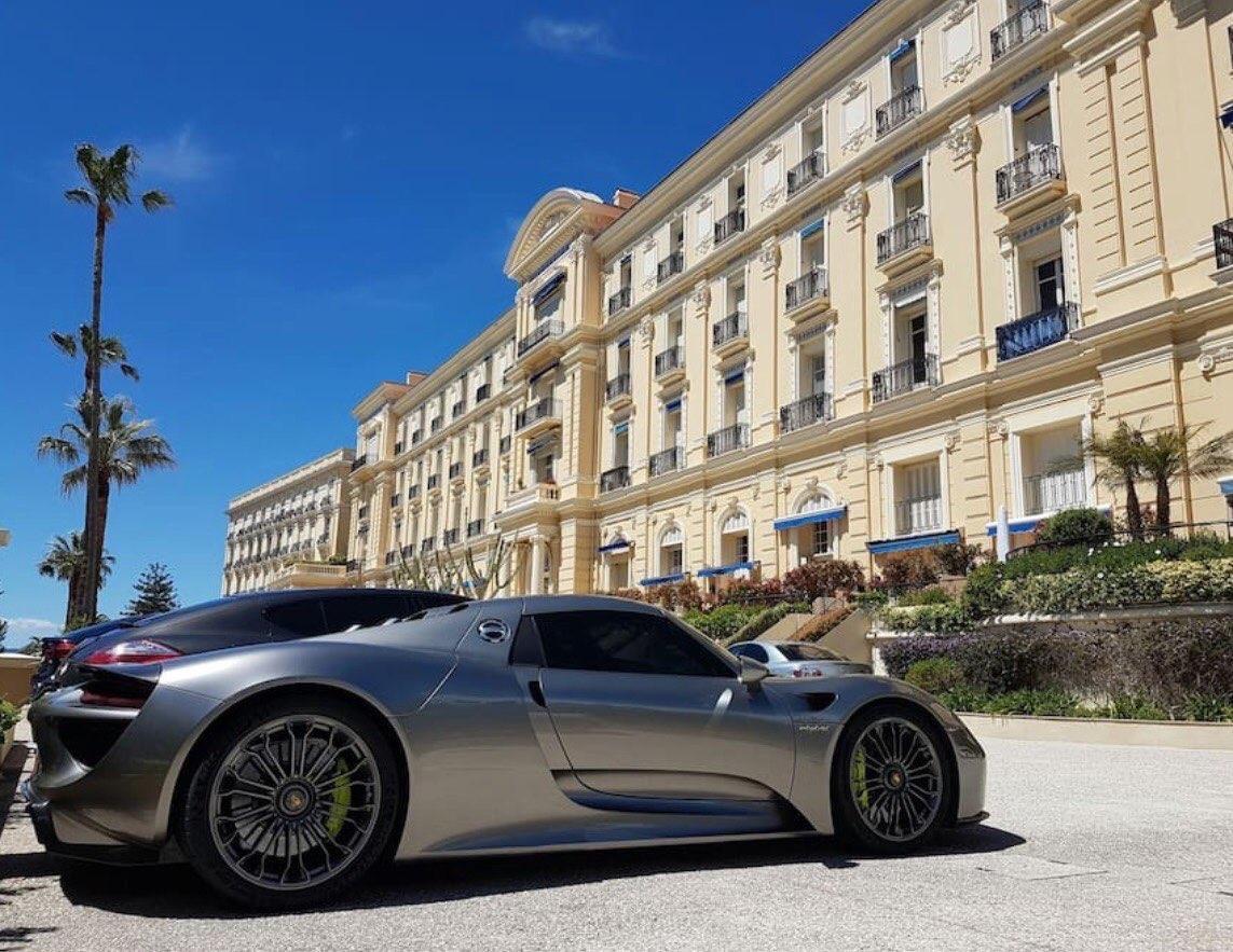 Porsche 918 Spyder Monaco