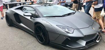 Sportwagen in Monaco Lamborghini Huracan
