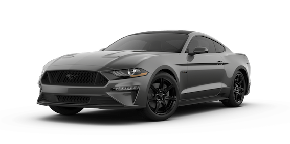 Ford Mustang Magentic schwarzes Dach
