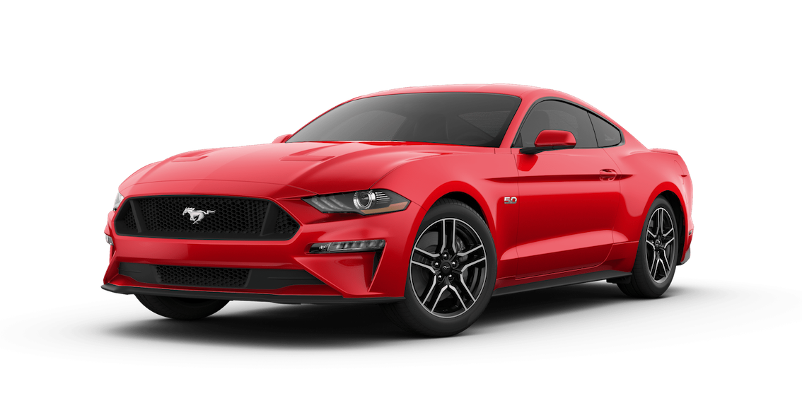 Ford Mustang 2018 Race Red