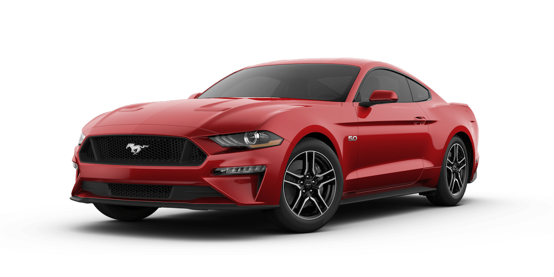 Ford Mustang 2018 Ruby Red