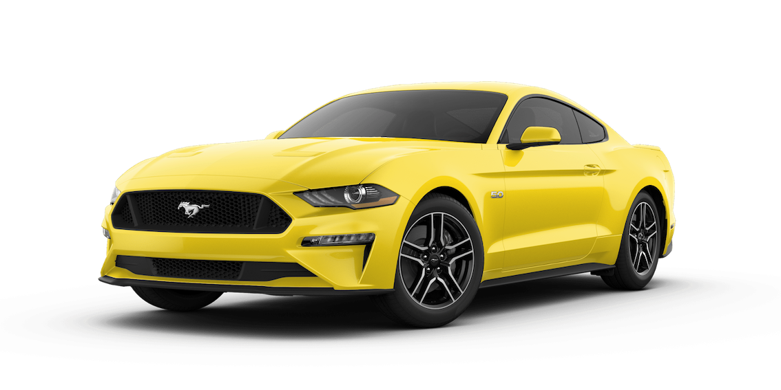 Ford Mustang 2018 Triple Yellow