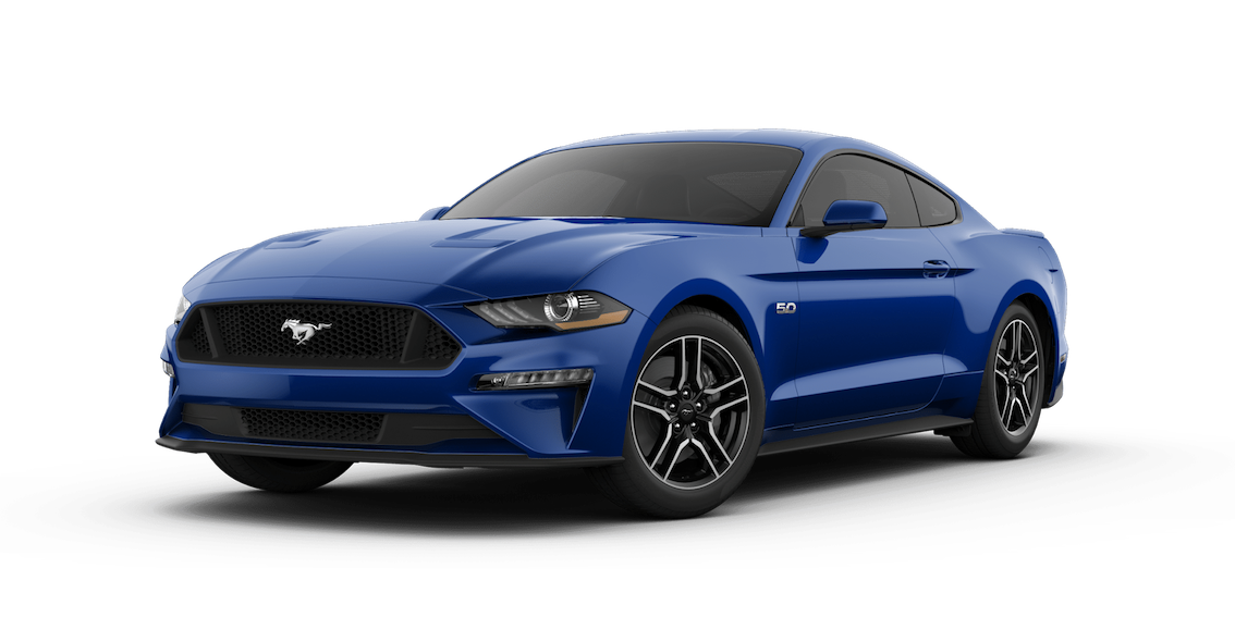 Ford Mustang 2018 Lightning Blue