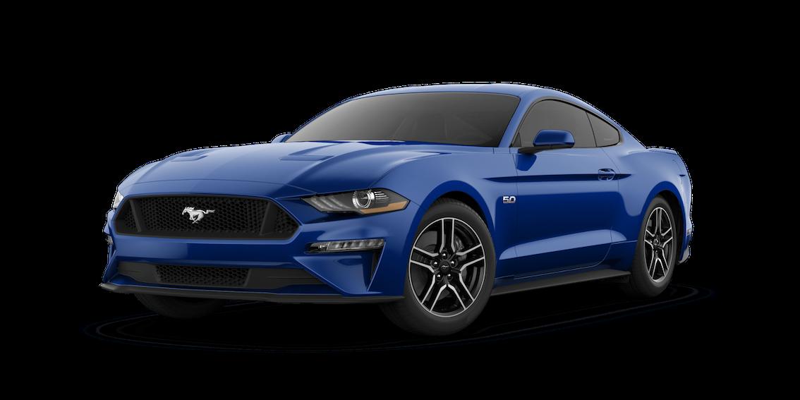 Ford Mustang 2018 Lightning Blue