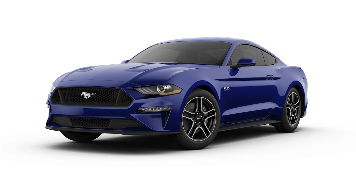 Ford Mustang 2018 Kona Blue