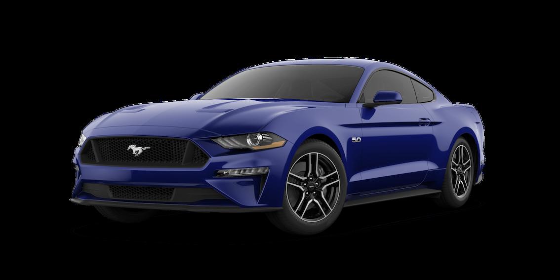 Ford Mustang 2018 Kona Blue