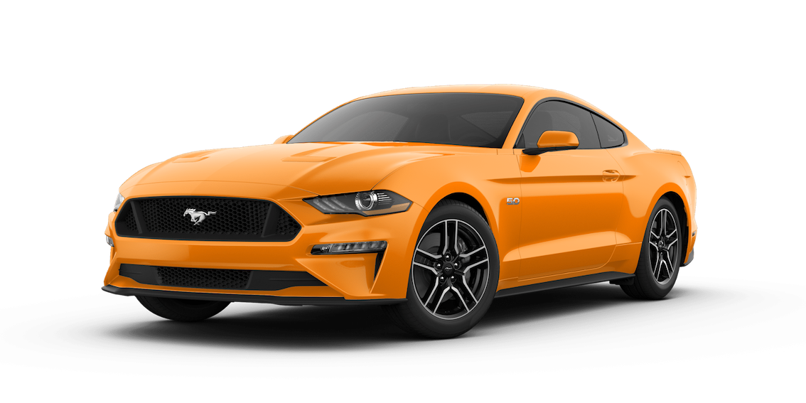 Ford Mustang 2018 Orange Fury