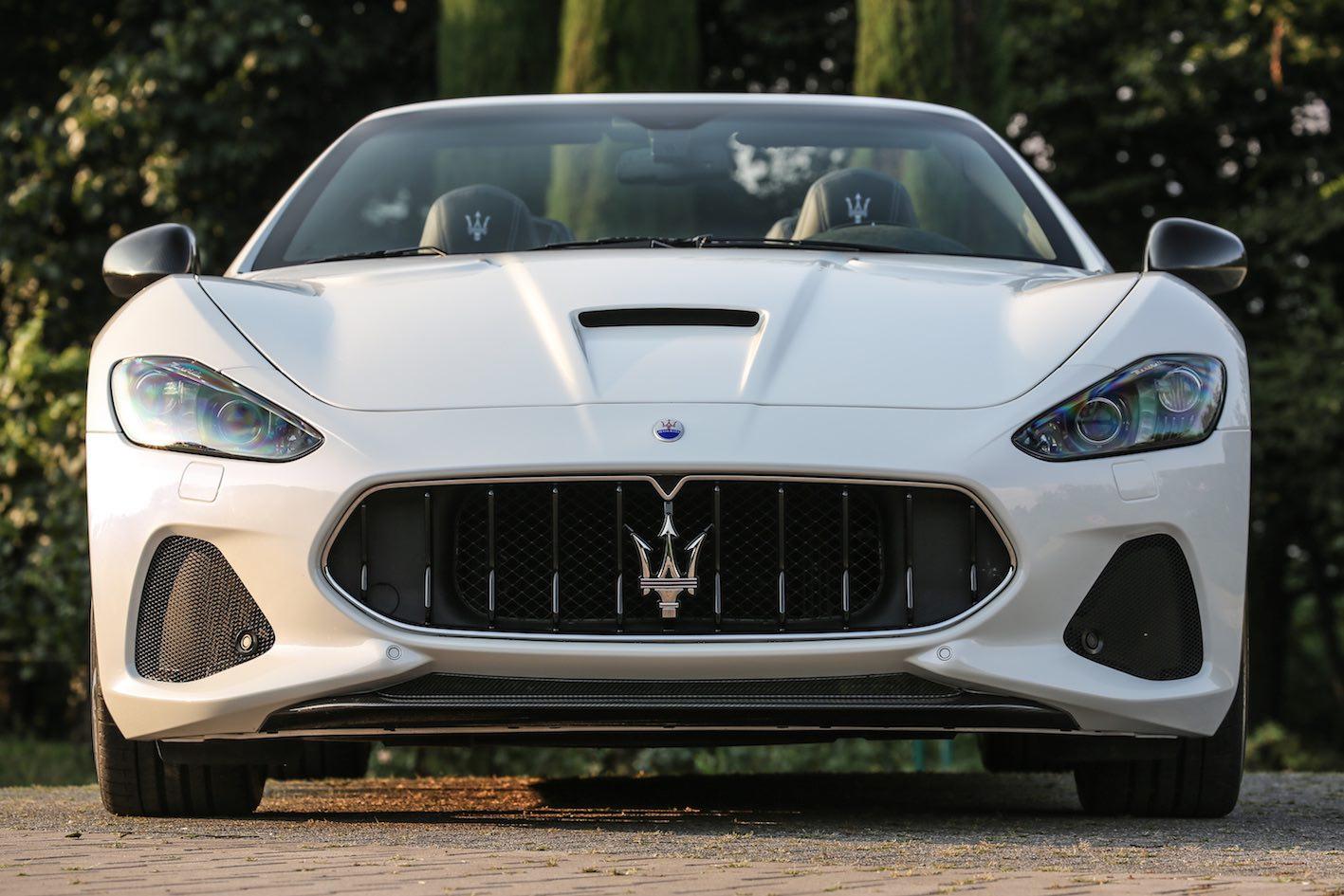 Maserati GranCabrio MC 2018 Front Weiß
