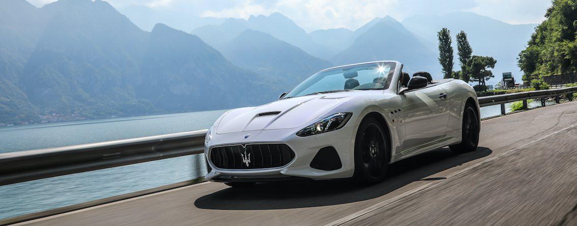 Maserati GranCabrio weiß Monaco
