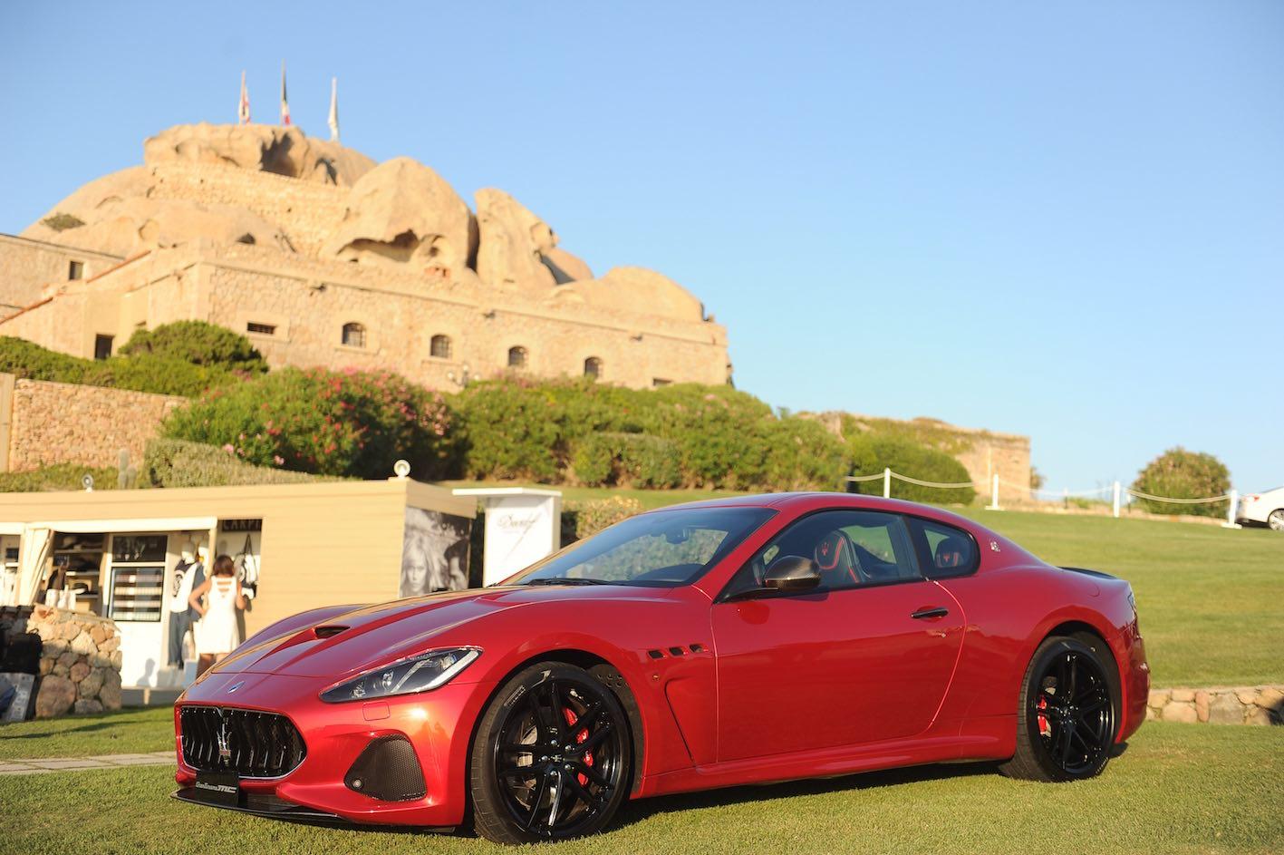 Maserati GranTurismo MC Rot Modell 2018