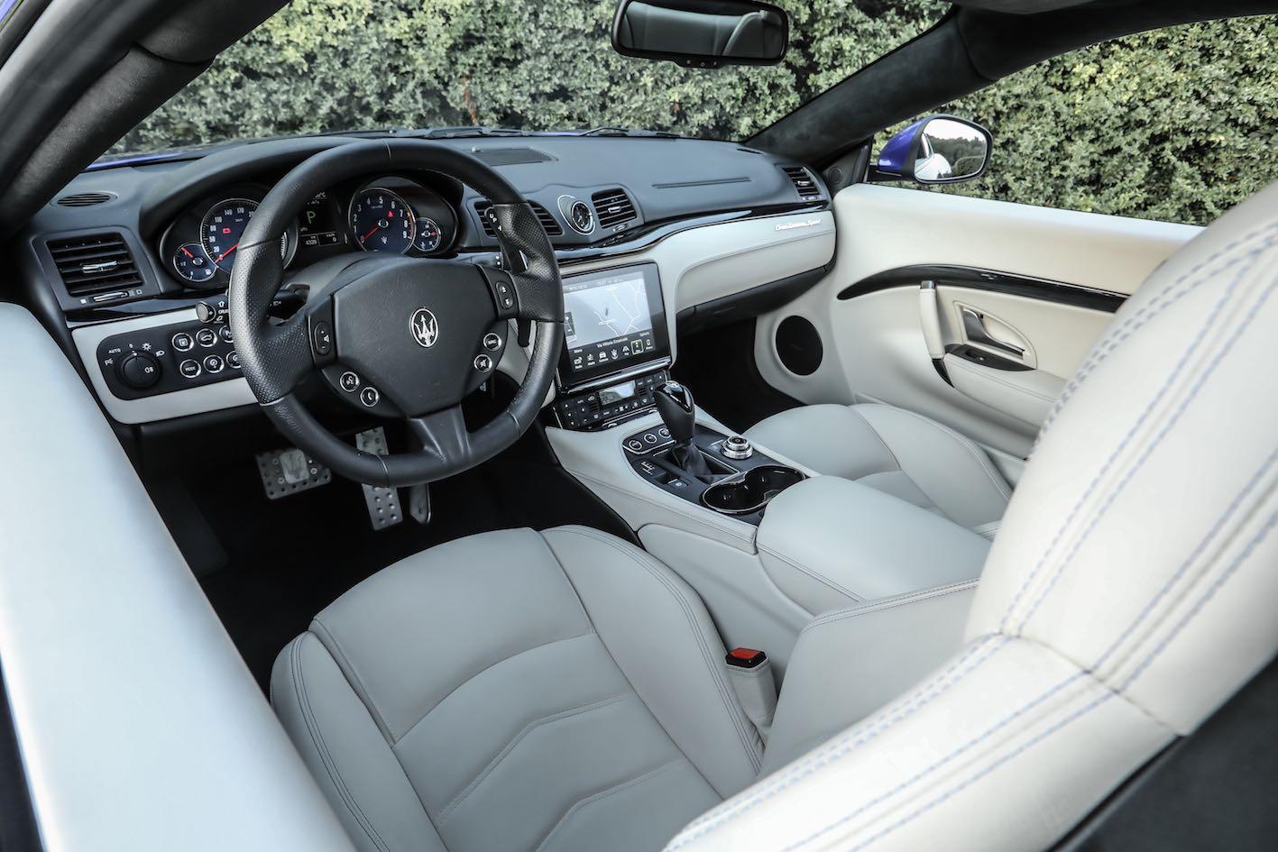 Maserati Granturismo 2018 Innenausstattung