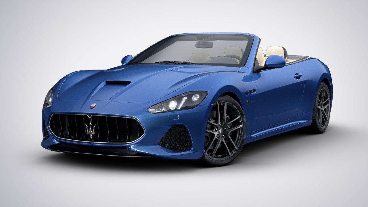 Maserati GranCabrio 2018 blau