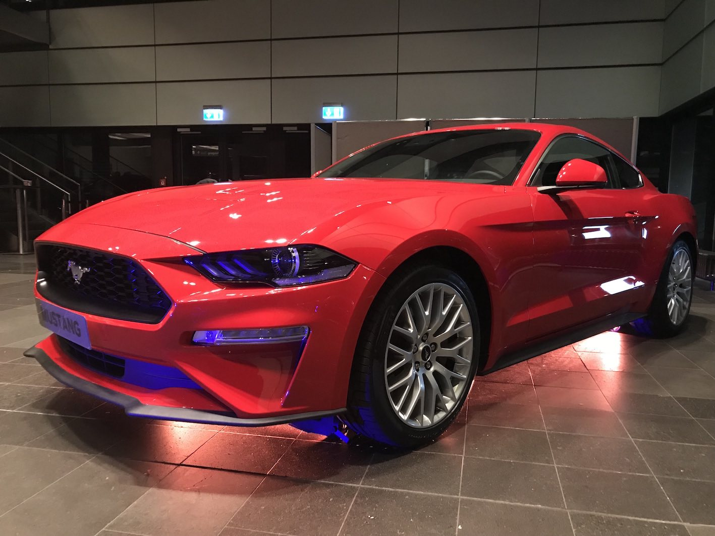 Ford Mustang 2018 Rot