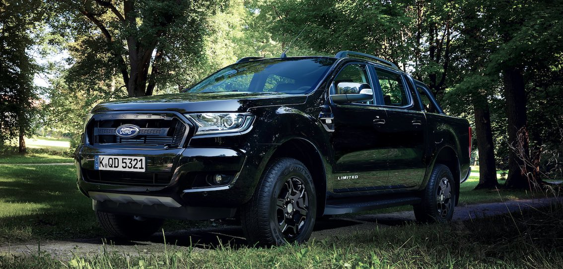 ford ranger black edition 2017 hier alles erfahren und. Black Bedroom Furniture Sets. Home Design Ideas