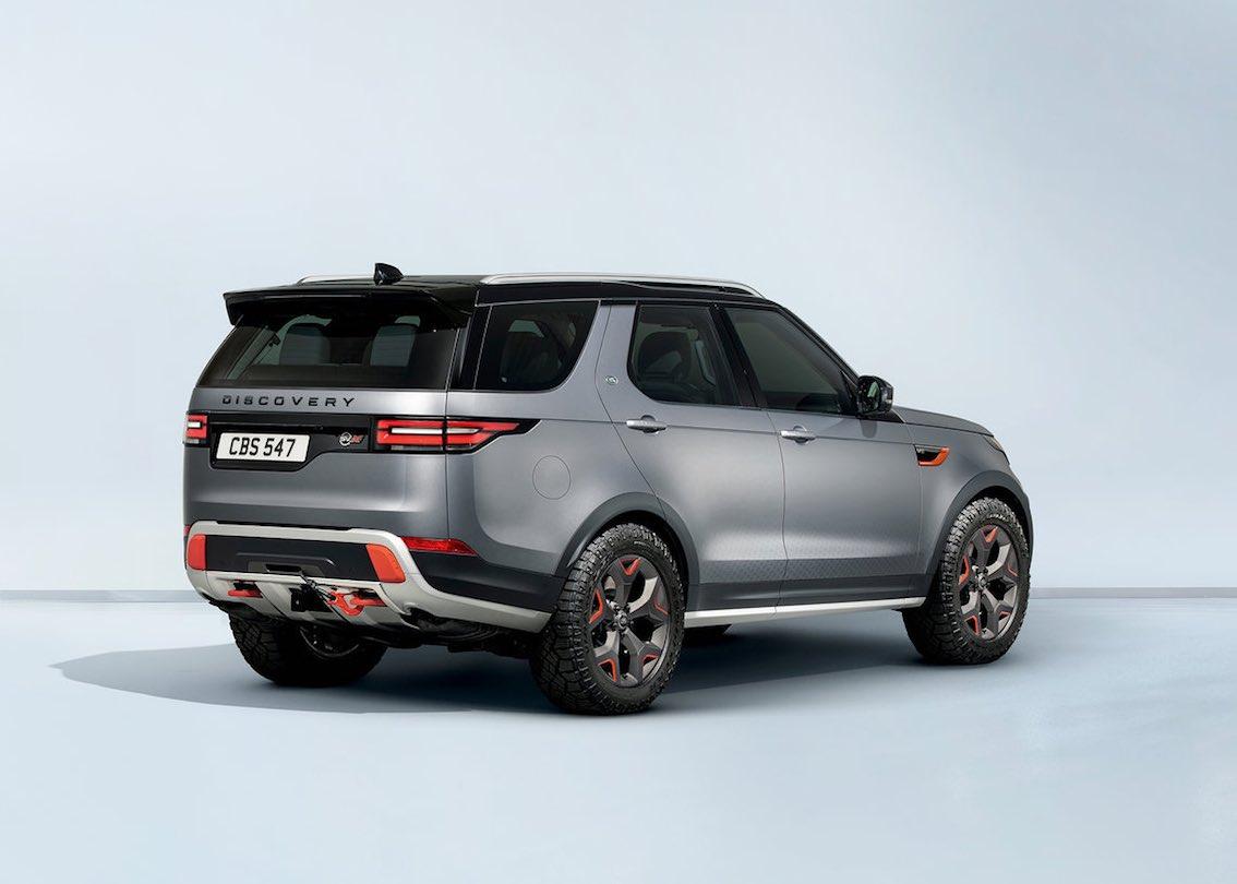 Land Rover Discovery Discovery SVX Orange Grau