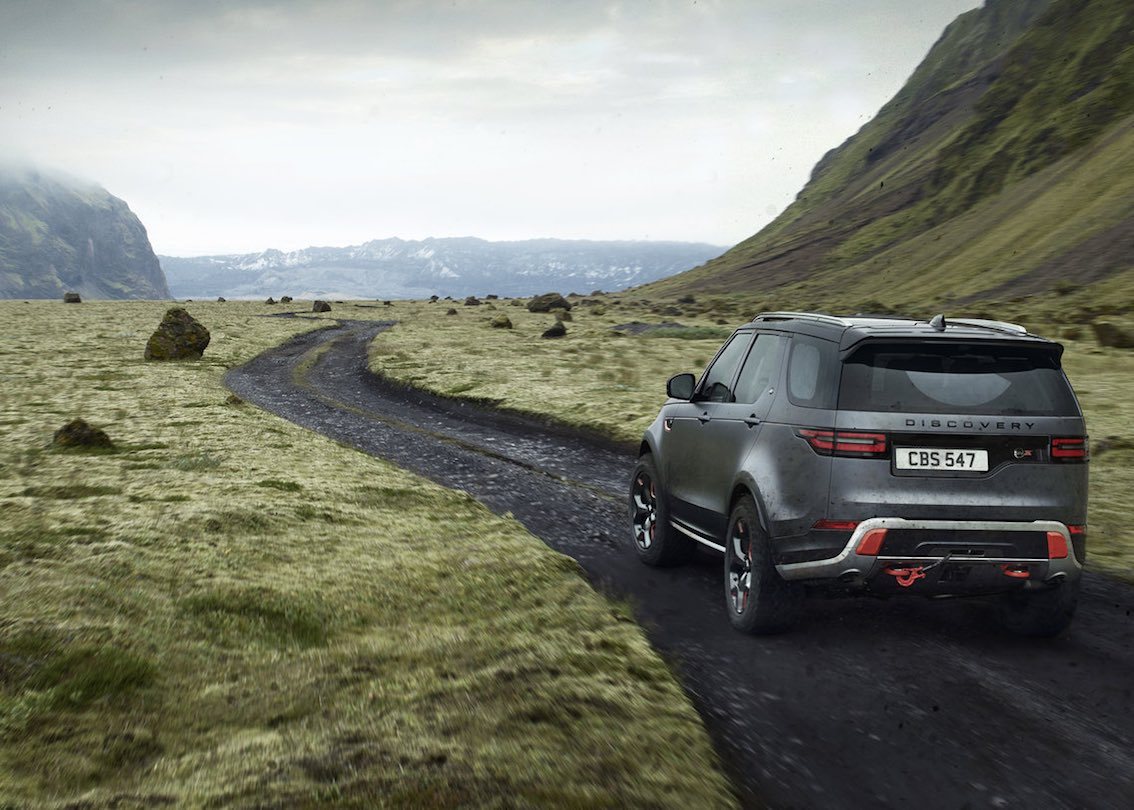 Land Rover Discovery SVX Heck