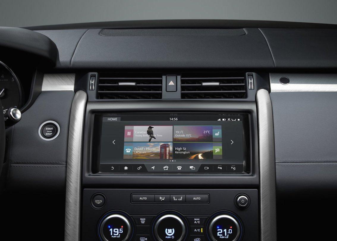 Land Rover SVX Infotainment