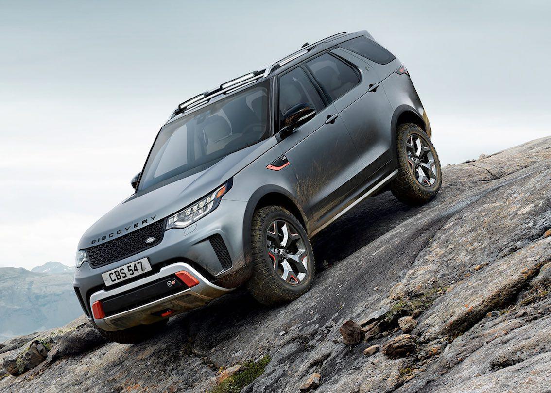 SVX Land Rover Grau 2018