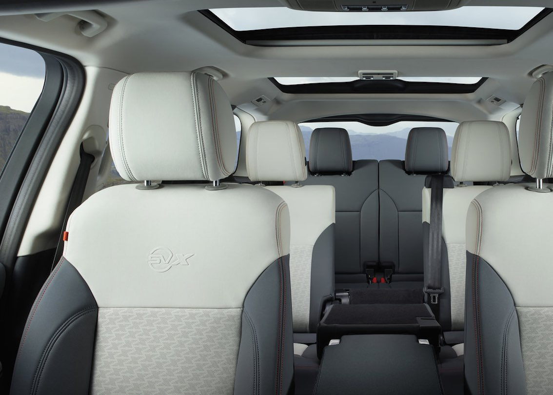 SVX Land Rover Innenausstattung