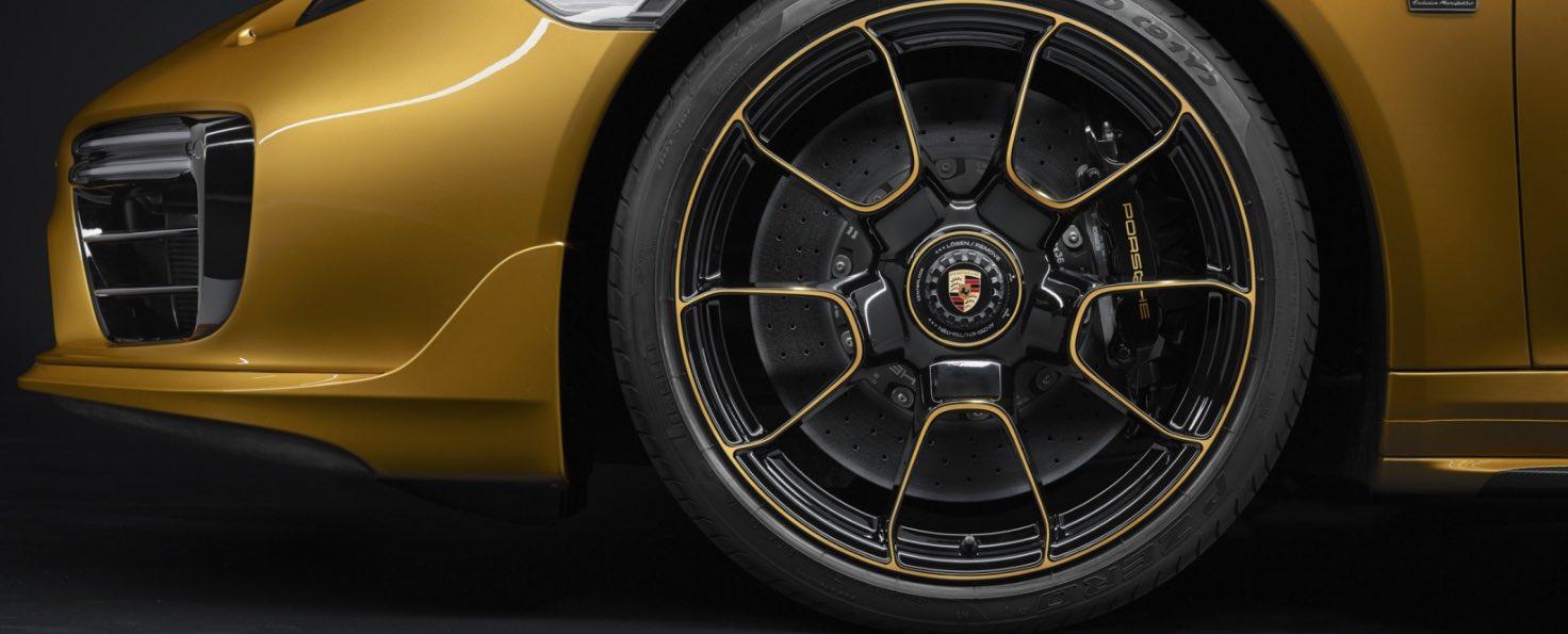 Zentralverschluss Felgen Porsche