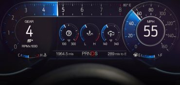 Ford Mustang LCD Display 2018