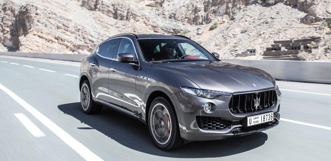 Maserati Levante 2018 Silber vorne