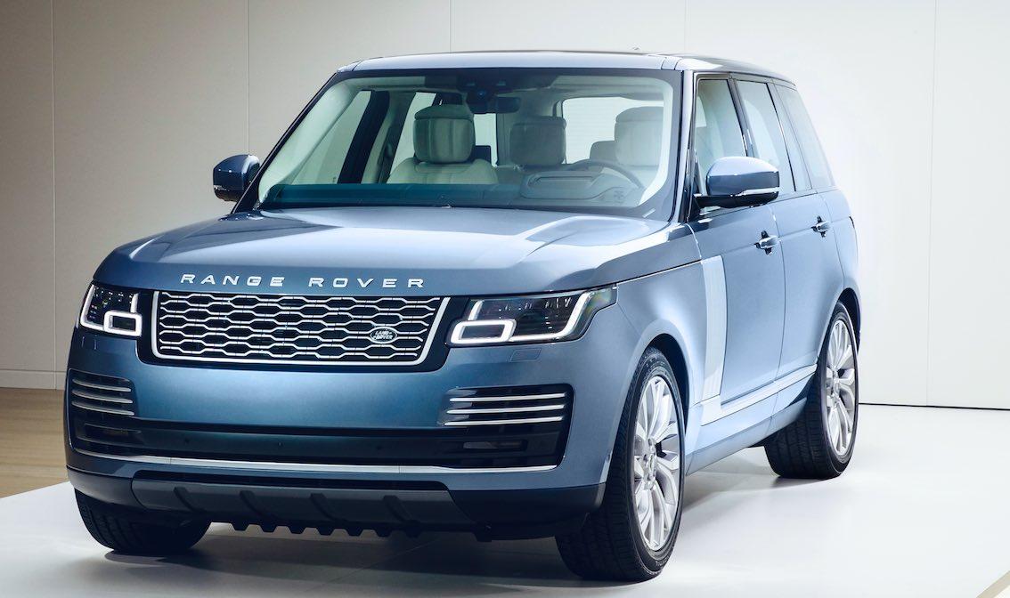 Range Rover Hybrid 2018 Blau