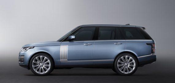 Range Rover Hybrid Plug-in 2018 blau
